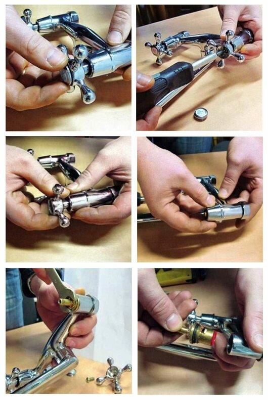 Как заменить кран буксу
