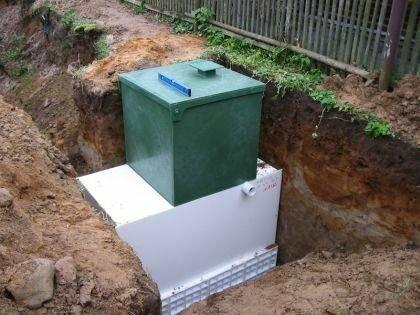 Система автономной канализации для дачи