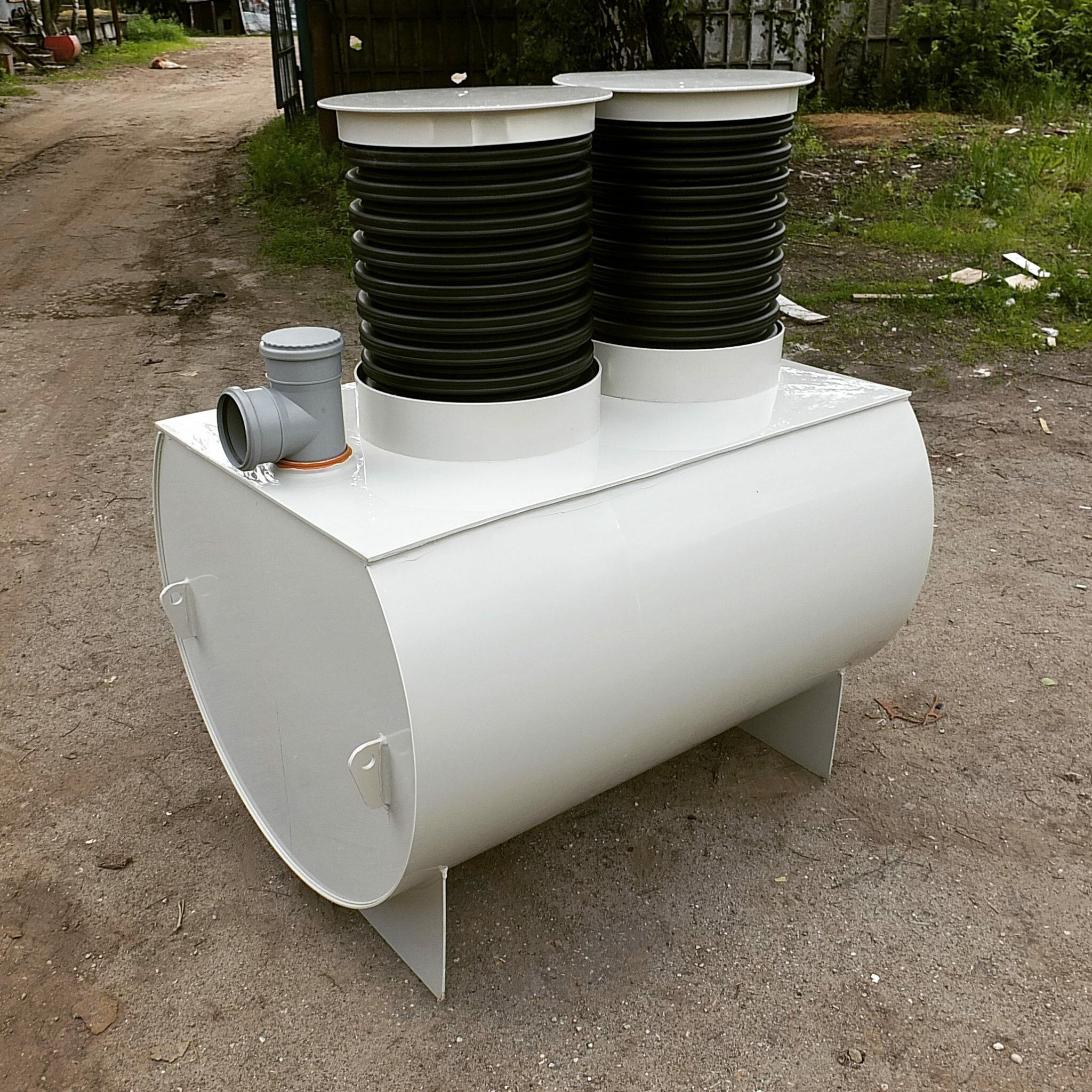 Обустройство автономной канализации на даче
