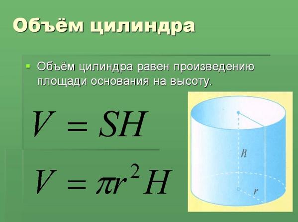 Формула, которая пригодится при проведении вычислений.