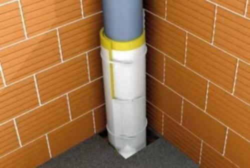 Фото трубы с шумоизоляцией