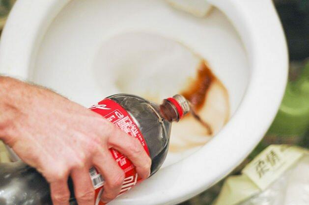 Кока-кола против ржавчины. Счет 1:0