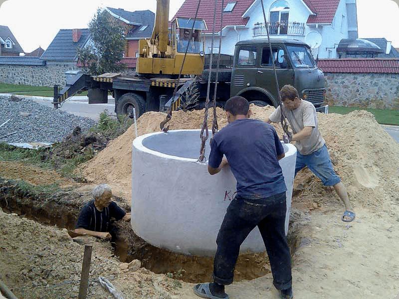 Если вы выкопали яму, установили кольца и назвали это канализацией
