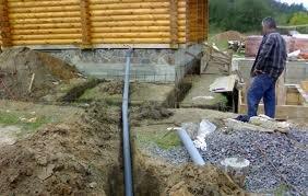 как проложить канализацию в частном доме