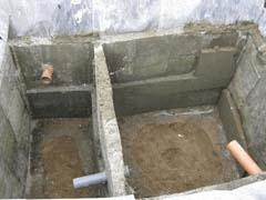 Канализационная система бани