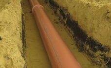 канализационная труба для наружных работ