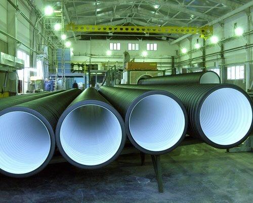 Гофрированные трубы предназначены для укладки в грунт