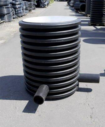 канализационный пластиковый колодец