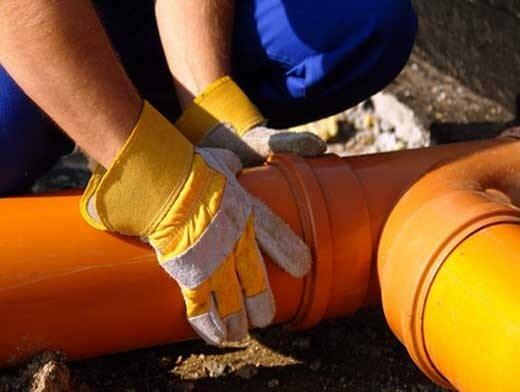 Соединение наружных канализационных труб своими руками