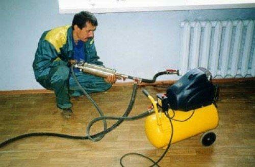 Комплект для промывки труб отопительной системы