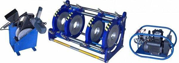 Кроме самого сварочного аппарата необходим специальный фиксирующий механизм для обеспечения неподвижности элементов и генератор (если на объекте нет электричества)