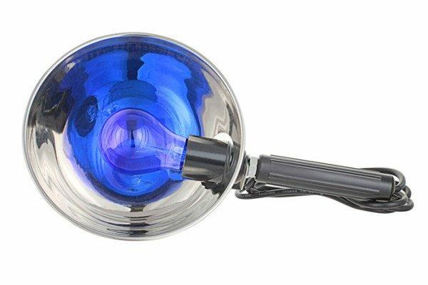 Медицинская лампа с дефлектором.