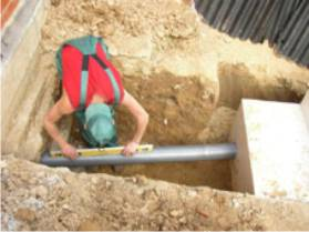 минимальный уклон канализационной трубы