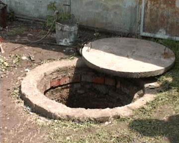 Монтаж канализационных колодцев