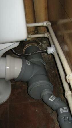 Новая пластиковая канализационная система