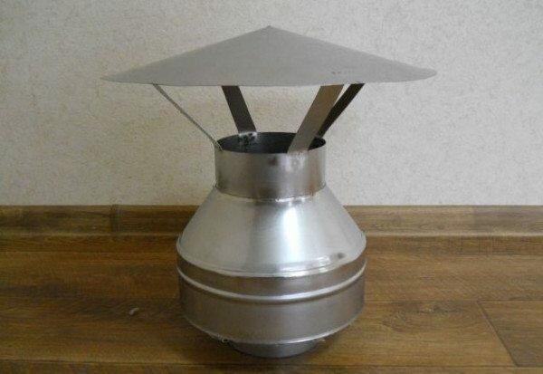 Оптимальный дефлектор для печной трубы