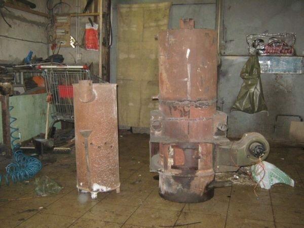 Отопление буржуйкой производственного помещения