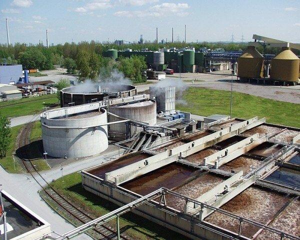 Переработка сточных вод – очистные сооружения
