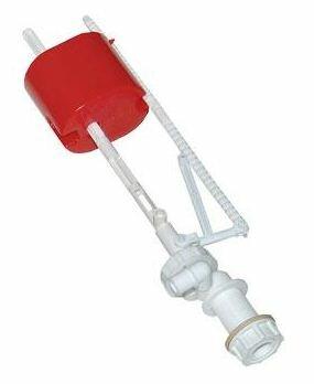 Пластиковый клапан обычно снимается легко и без эксцессов.