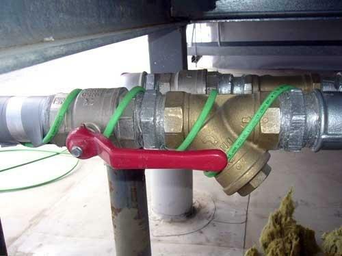 подогрев канализационных труб
