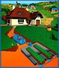 Пример перерабатывающей канализационной системы