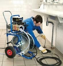 Прочистка специальным оборудованием