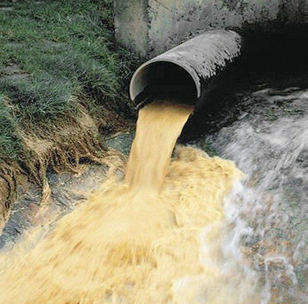 Промышленный сброс воды