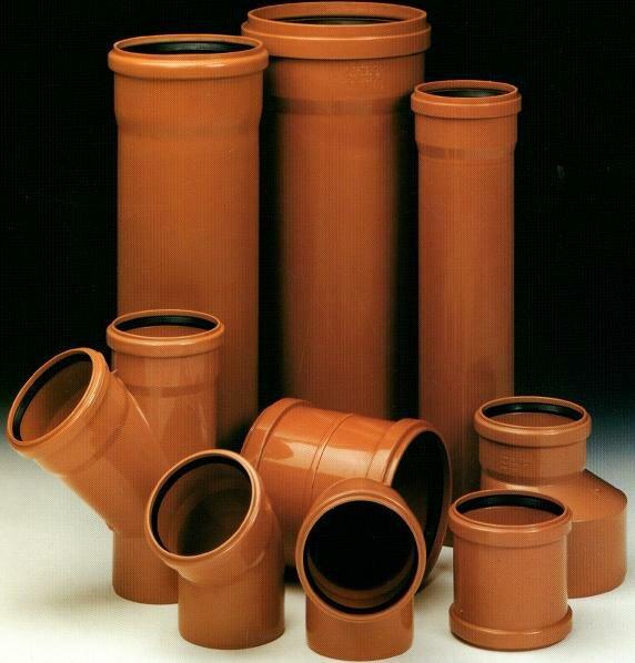 Фитинги и отводы для системы наружной канализации