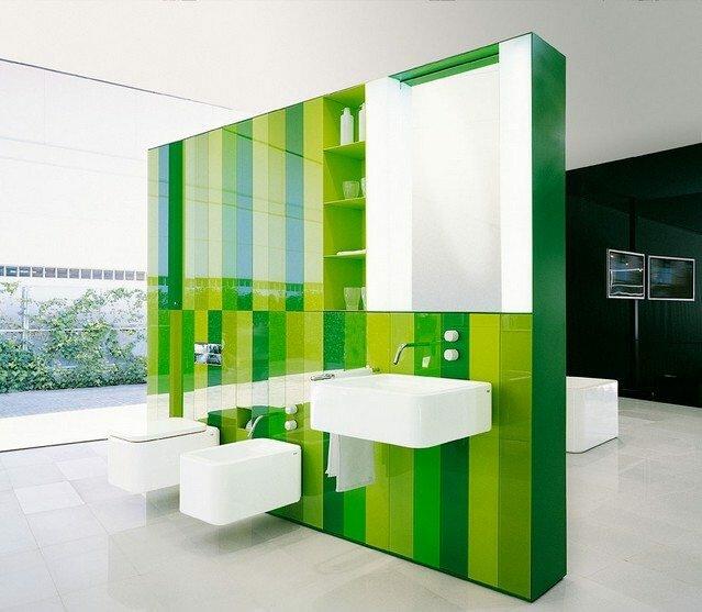 Рамная инсталляция дает больше простора фантазии дизайнера.