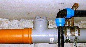 система канализации на даче