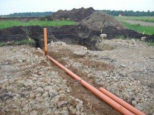 снип уклон канализационной трубы