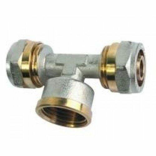 Специальное изделие для работы с металлопластиковыми трубами и переходом на стандартную резьбу