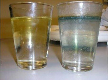 Анализ воды после разных степеней очистки