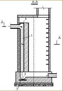 Конструкция колодца со стояком