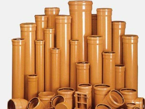 Трубы и фитинги из поливинилхлорида для наружной канализации