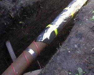 трубы канализационные с подогревом