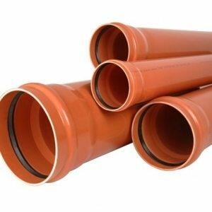 Трубы бытовой наружной канализации
