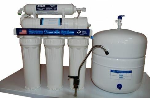 Если вам не хочется, чтобы все растворенное в воде попадало в вашу пищу и питье - фильтр глубокой очистки вам поможет