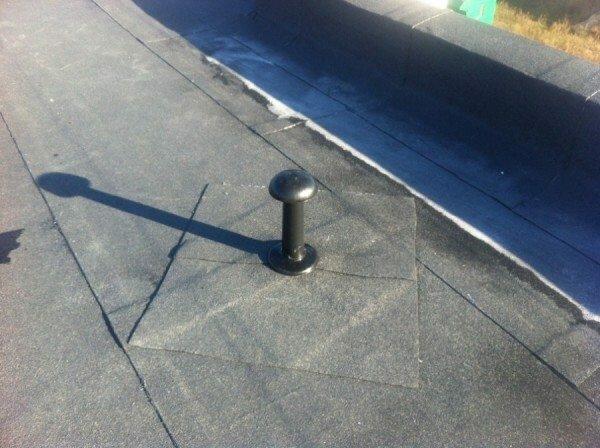 Устройство фановой трубы на плоской крыше
