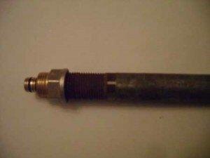 Вариант соединения фитинга со стальной трубой