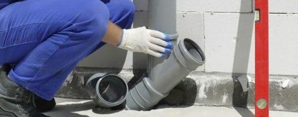 Ведутся работы по монтажу канализации.