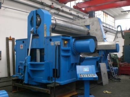 Заводское оборудование для вальцевания цилиндрических изделий из разных металлов